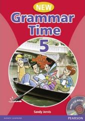 Grammar Time 5 New Edition Student Book + CD (підручник) - фото обкладинки книги