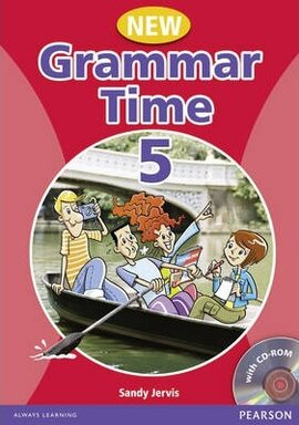 Grammar Time 5 New Edition Student Book + CD (підручник) - фото книги