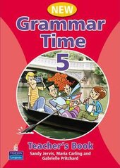 Grammar Time 5 New Edition Teachers Book (книга вчителя) - фото обкладинки книги
