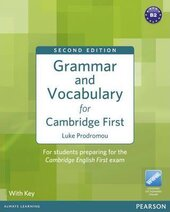Grammar & Vocabulary for FCE + key + access to Longman Dictionaries Online. New Edition - фото обкладинки книги