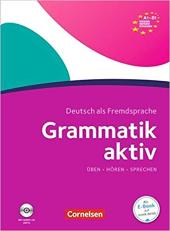 Grammatik aktiv A1-B1 mit Audio-CD - фото обкладинки книги