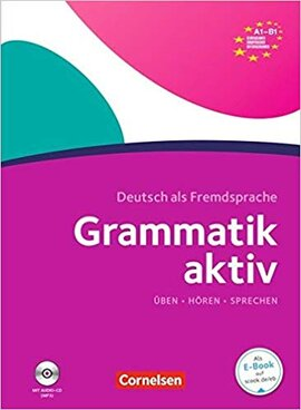 Grammatik aktiv A1-B1 mit Audio-CD - фото книги