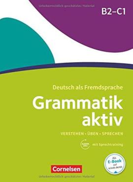Grammatik aktiv B2-C1 mit Audios online - фото книги