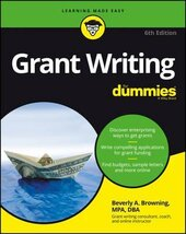 Grant Writing For Dummies - фото обкладинки книги