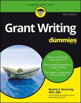Grant Writing For Dummies - фото книги