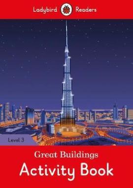 Great Buildings Activity Book - Ladybird Readers Level 3 - фото книги