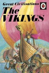 Great Civilisations: the Vikings : A Ladybird Book - фото обкладинки книги