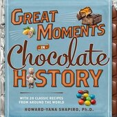 Great Moments in Chocolate History: With 20 Classic Recipes From Around the World - фото обкладинки книги