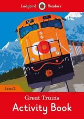 Great Trains Activity Book - Ladybird Readers Level 2 - фото обкладинки книги
