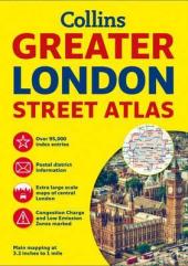 Greater London Street Atlas - фото обкладинки книги