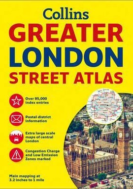 Greater London Street Atlas - фото книги