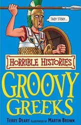 Groovy Greeks - фото обкладинки книги