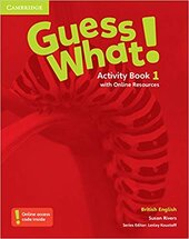 Guess What! Level 1 Activity Book with Online Resources - фото обкладинки книги