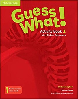 Guess What! Level 1 Activity Book with Online Resources - фото книги