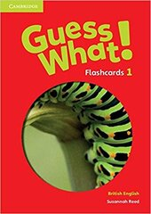 Guess What! Level 1 Flashcards (pack of 95) - фото обкладинки книги