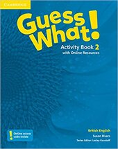 Guess What! Level 2 Activity Book with Online Resources - фото обкладинки книги
