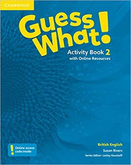 Guess What! Level 2 Activity Book with Online Resources - фото книги