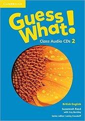 Guess What! Level 2 Class Audio CDs (3) - фото обкладинки книги