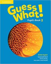 Guess What! Level 2 Pupil's Book British English - фото обкладинки книги