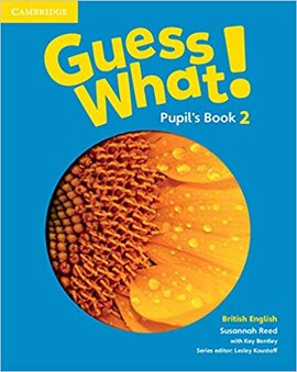 Guess What! Level 2 Pupil's Book British English - фото книги