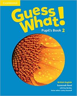 Guess What! Level 2 Pupil's Book British English - фото книги