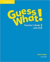 Guess What! Level 2 Teacher's Book with DVD - фото обкладинки книги