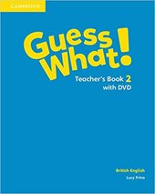 Guess What! Level 2 Teacher's Book with DVD - фото обкладинки книги