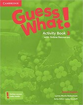Guess What! Level 3 Activity Book with Online Resources - фото обкладинки книги