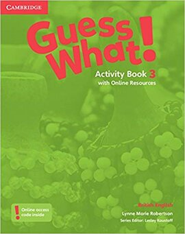 Guess What! Level 3 Activity Book with Online Resources - фото книги
