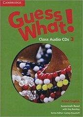 Guess What! Level 3 Class Audio CDs (2) - фото обкладинки книги