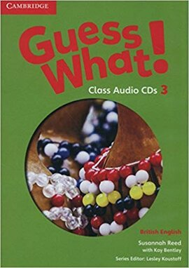 Guess What! Level 3 Class Audio CDs (2) - фото книги