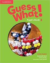 Guess What! Level 3 Pupil's Book - фото обкладинки книги