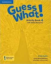 Guess What! Level 4 Activity Book with Online Resources - фото обкладинки книги