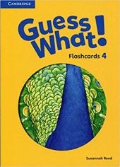 Guess What! Level 4 Flashcards (88) - фото обкладинки книги