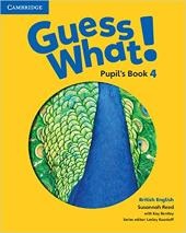 Guess What! Level 4 Pupil's Book - фото обкладинки книги