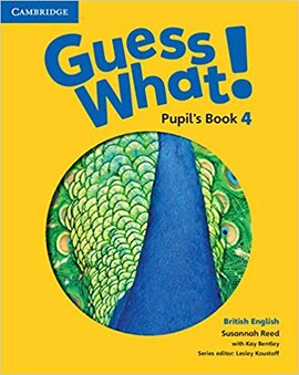 Guess What! Level 4 Pupil's Book - фото книги