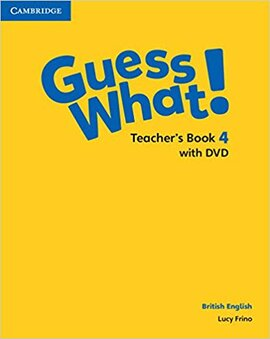 Guess What! Level 4 Teacher's Book with DVD - фото книги