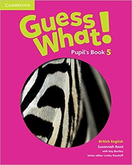 Guess What! Level 5 Pupil's Book - фото книги