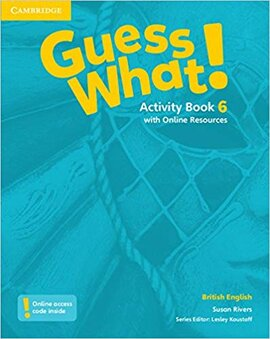 Guess What! Level 6 Activity Book with Online Resources - фото книги