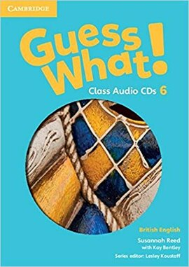 Guess What! Level 6 Class Audio CDs (3) - фото книги