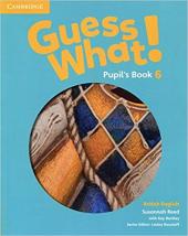 Guess What! Level 6 Pupil's Book - фото обкладинки книги