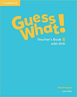 Guess What! Level 6 Teacher's Book with DVD - фото книги