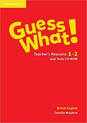 Guess What! Levels 1-2 Teacher's Resource and Tests CD-ROM - фото обкладинки книги