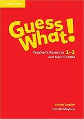 Guess What! Levels 1-2 Teacher's Resource and Tests CD-ROM - фото обкладинки книги