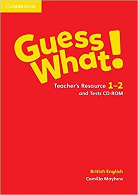 Guess What! Levels 1-2 Teacher's Resource and Tests CD-ROM - фото книги