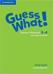 Guess What! Levels 3-4 Teacher's Resource and Tests CD-ROMs - фото обкладинки книги