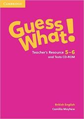 Guess What! Levels 5–6 Teacher's Resource and Tests CD-ROMs - фото обкладинки книги