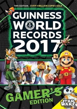 Guinness World Records 2017 Gamer's Edition - фото книги