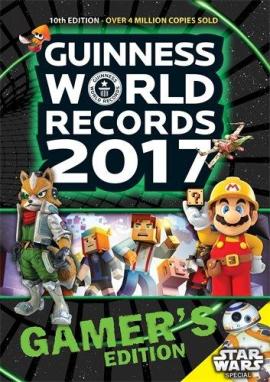 Книга Guinness World Records 2017 Gamer's Edition