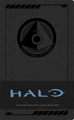 Halo Hardcover Ruled Journal - фото книги